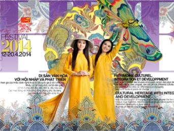 """Festival Huế 2014 """"Di sản văn hóa với hội nhập và phát triển"""""""